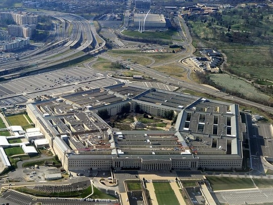 This picture taken 26 December 2011 shows the Pentagon building in Washington, DC. (Photo credit: STAFF/AFP/Getty Images)