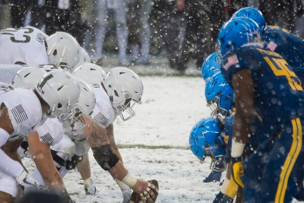 c4039130a Countdown to Army-Navy 2018  Black Knights look for 3rd straight over  slumping Mids