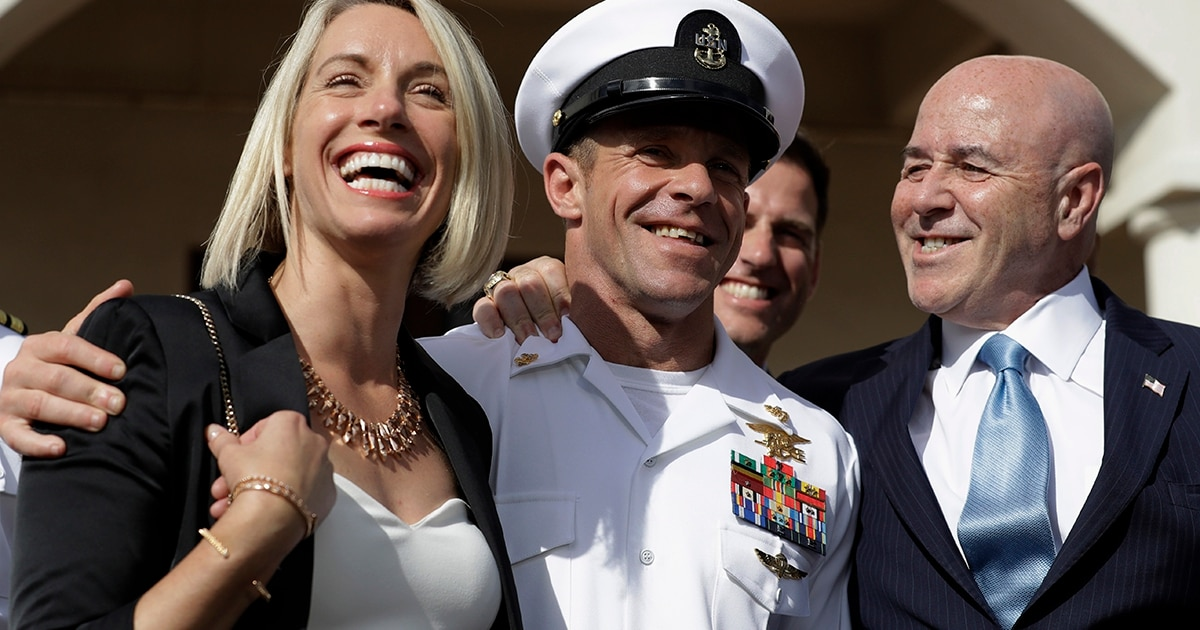 Retired SEAL Chief Eddie Gallagher unveils new legal defense foundation