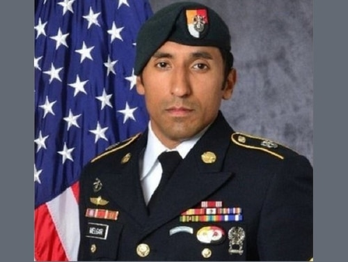 Staff Sgt. Logan Melgar was found dead of strangulation on June 4, 2017, in housing he shared with three other special operations forces personnel in Bamako, Mali. (Army)