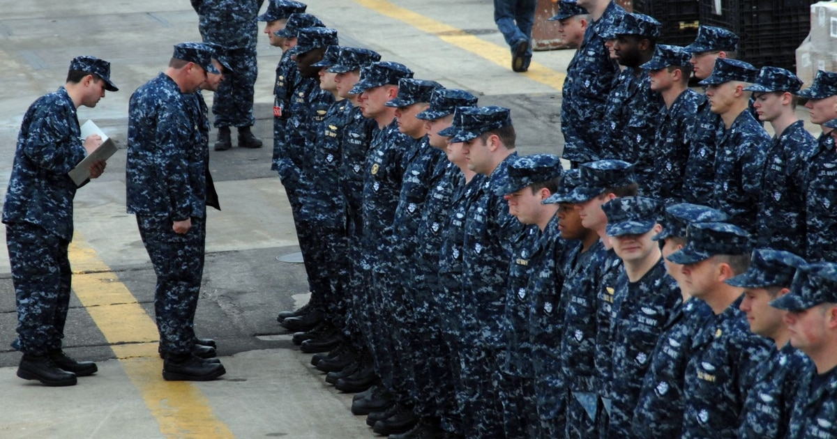 Good riddance, blueberries! Navy bids farewell to its worst uniform ever