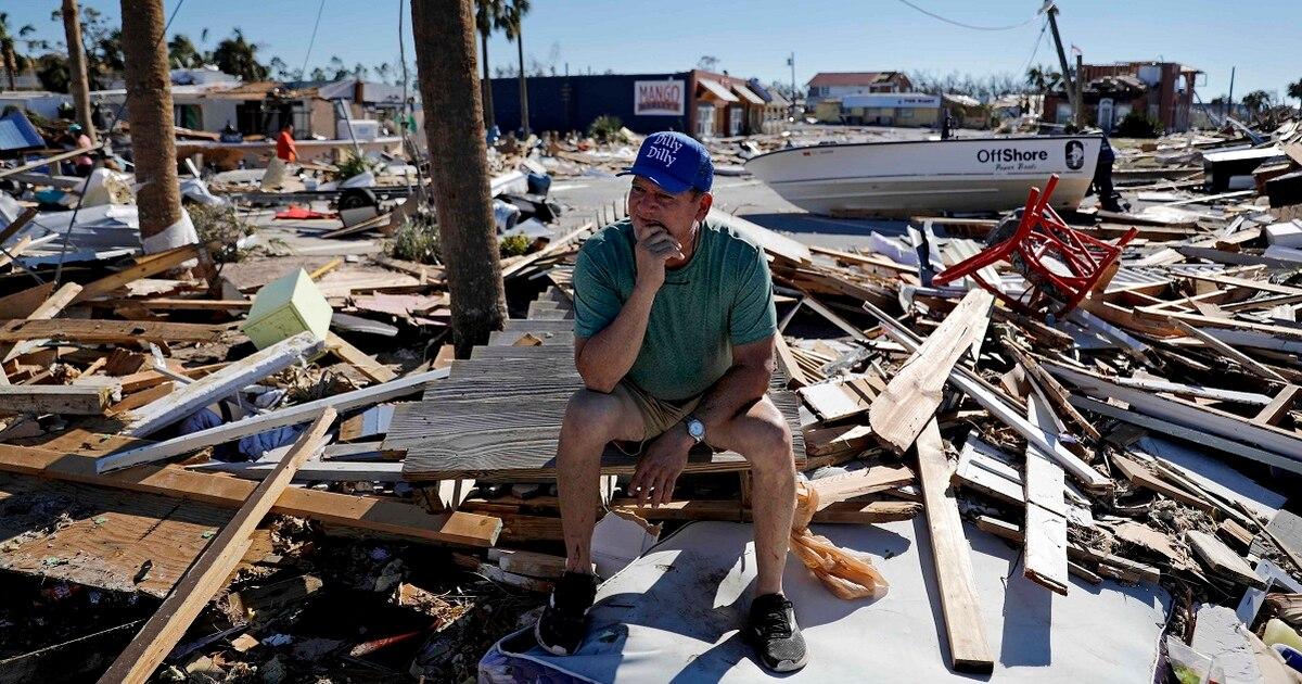 Searchers find body in hurricane-stricken town