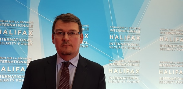 NATO member Slovakia is on track to purchase 14 Lockheed Martin F-16V fighters to replace its MiG-29 jets, part of a wider effort to break from Russia, Slovak Ministry of Defense State Secretary Róbert Ondrejcsák said on the sidelines of the 2018 Halifax International Security Forum.