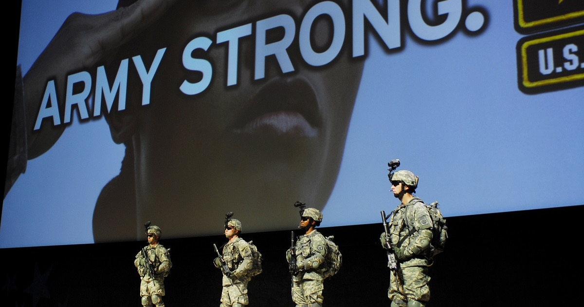 8bb055ac7a4 Here are 7 suggestions for replacing the  Army Strong  slogan