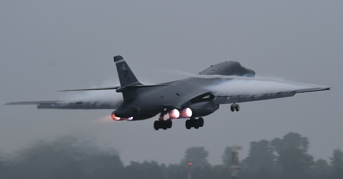 Air Force B 1b Bombers To Resume Flights Following Ejection Seat