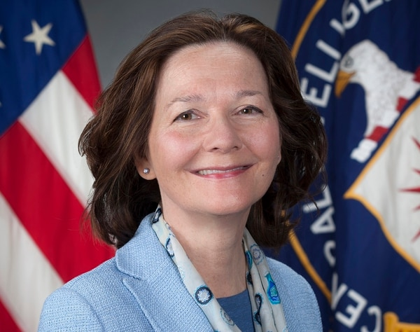 President Donald Trump tweeted March 13, 2018, that he would nominate CIA Director Mike Pompeo to be the new secretary of state and that he would nominate Gina Haspel, shown, to replace him. (CIA via AP)