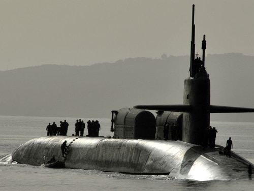 The Navy is willing to pay big bucks to retain seasoned sub skippers. (U.S. Navy photo)