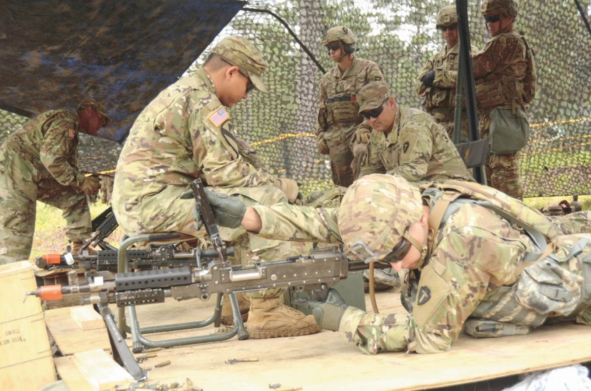 Soldier shot while training for Expert Infantryman Badge ...