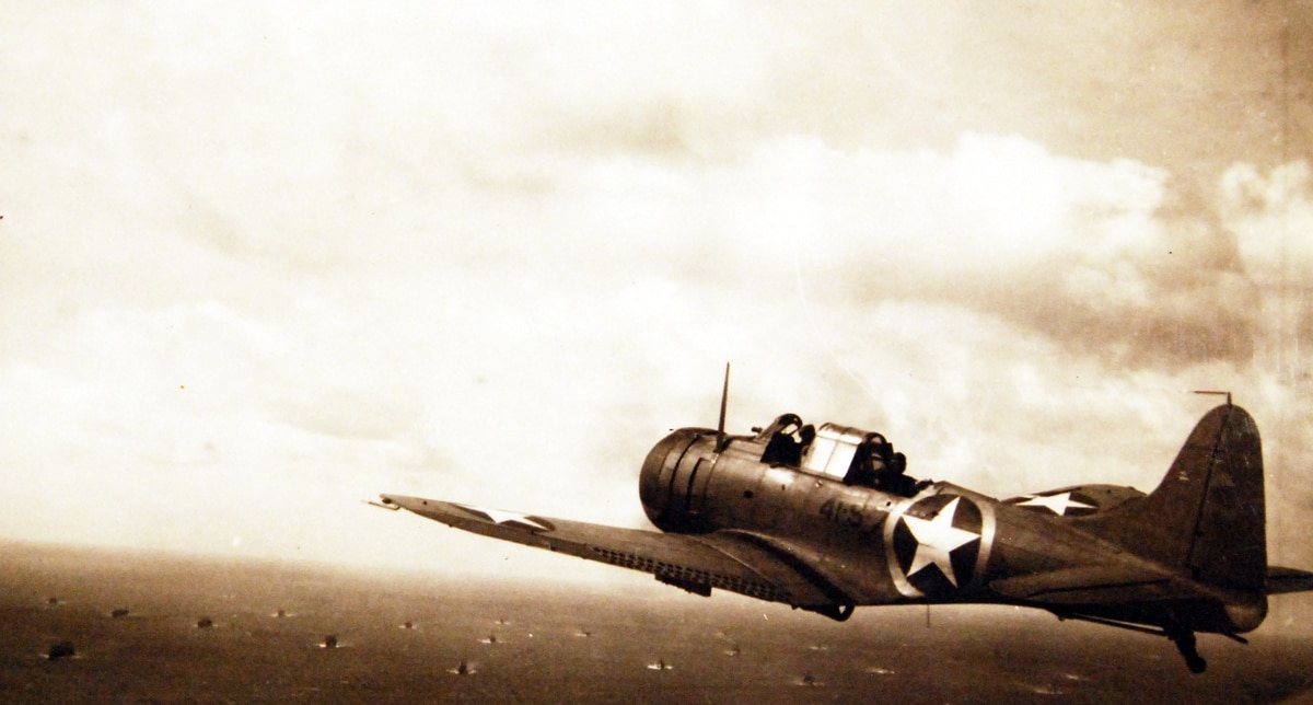 That time American planes fought American planes