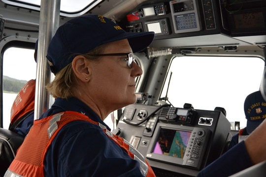 Vice Adm. Linda Fagan, Coast Guard Pacific Area commander, will be the first woman nominated for a fourth-star in the service. (Coast Guard photo/Seaman Nicole Bridler.)