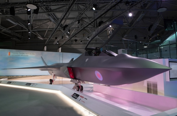 The British Ministry of Defence revealed Tempest during the 2018 Farnborough Airshow. (BAE Systems)