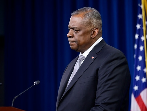 Defense Secretary Lloyd Austin is waiting to hear what the service secretaries have to say before making his final decision. (Staff Sgt. Brittany A. Chase/DoD)