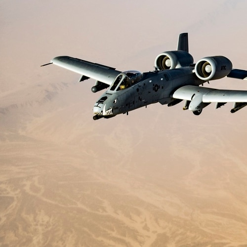 The Air Force will be able to restart an effort to replace the wings of A-10 Warthog with $103 million included by Congress in its fiscal 2019 spending bill. (Tech. Sgt. Gregory Brook/U.S. Air Force)