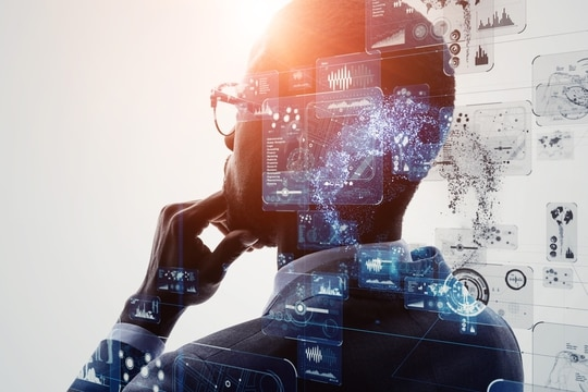 Students pursuing degrees in artificial intelligence could get financial support in exchange for agreeing to work for the federal government after graduation. (metamorworks)