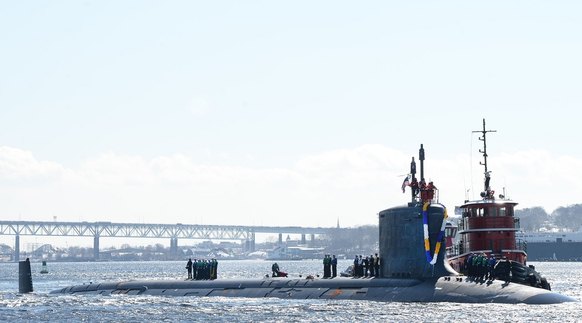 With the US Navy's top shipbuilding priority on deck, red flags fly