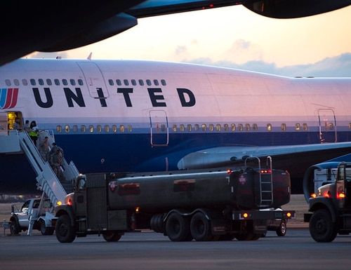 Military families on Guam rely on United Airlines as the only airline that flies to or from the island. (Staff Sgt. Samuel Morse/Air Force)