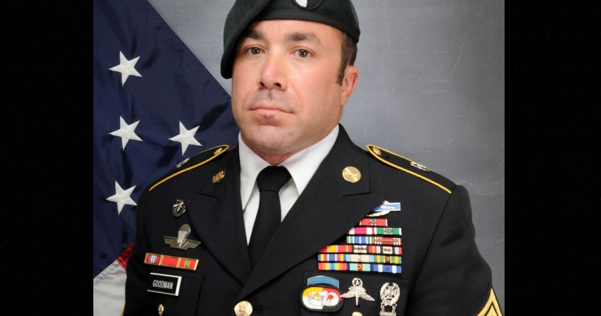 Green Beret who died during freefall training was 3rd Group team sergeant