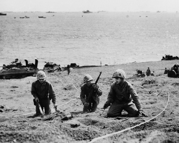 The Battle of Iwo Jima: A 36-day bloody slog on a sulfuric
