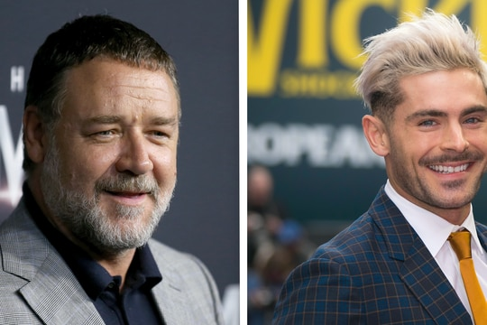 Russell Crowe and Zac Efron are both penciled in as cast members of the upcoming film. (Rick Rycroft/Joel Ryan/AP)