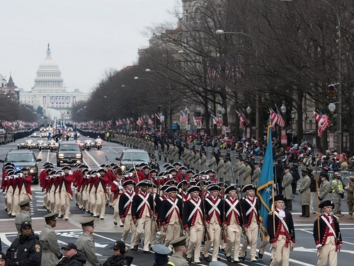 The cost for Trump's controversial military parade to be held several days before Veterans Day is reportedly going to top $90 million. (Army)