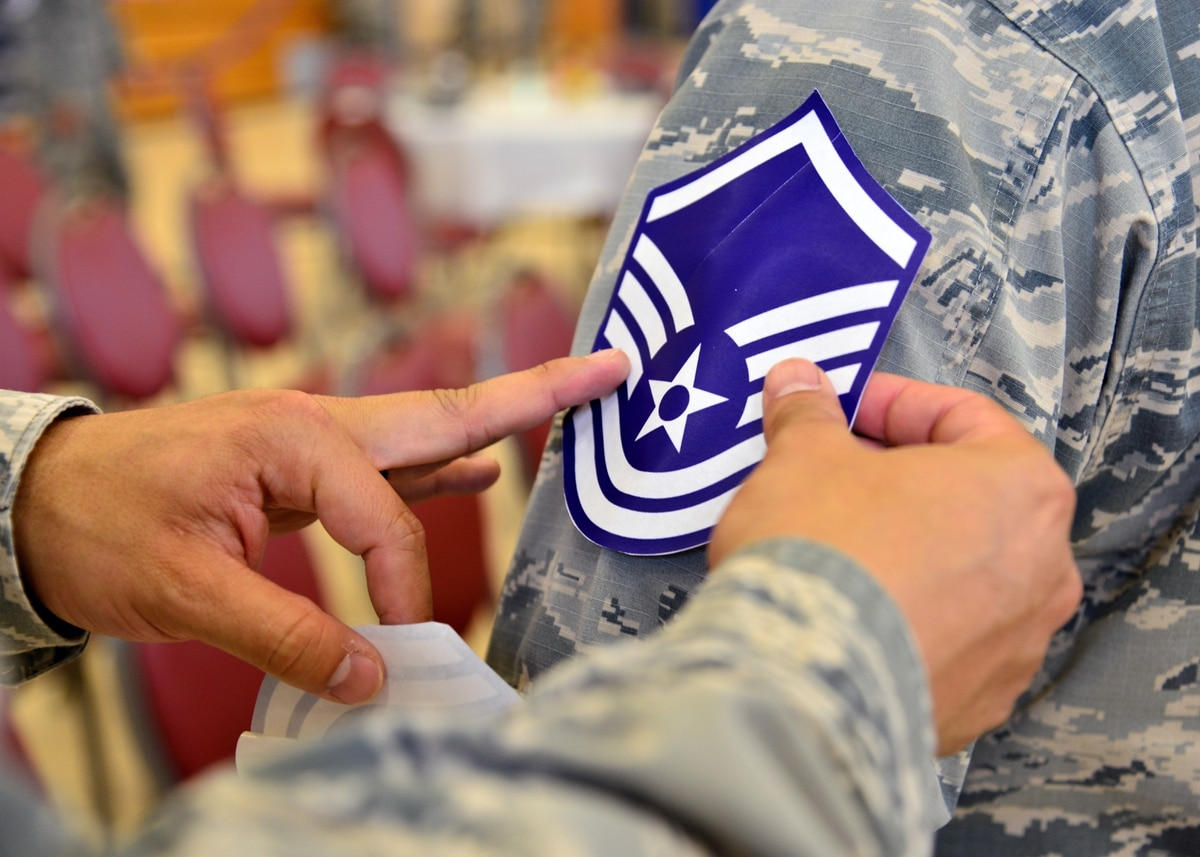 Here are the Air Force's newest master sergeants