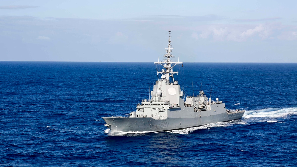 Why Spain removed a frigate from training exercises with ... Spanish Aircraft Carrier News