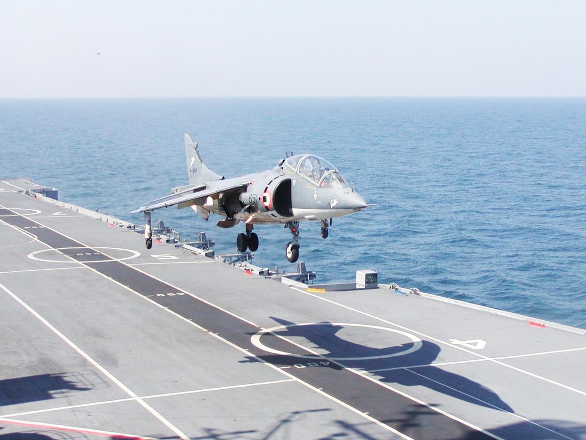 Indian Navy Retires Sea Harriers