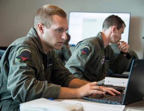 The 2019 NDAA bill provides for the establishment of the National Security Commission on Artificial Intelligence, which will explore how the military and Department of Defense use and develop AI technology. (Sean M. Worrell/Air Force)