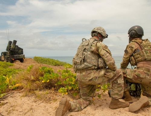 The Army wants to make sure its forthcoming electronic warfare systems can support forces across the vast maritime distances of the Indo-Pacific region. (SFC Claudio Tejada/U.S. Army)