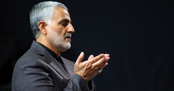 Gen. Qassem Soleimani was killed in an airstrike at Baghdad International Airport in Iraq on Jan. 2, 2020. (Office of the Iranian Supreme Leader via AP)