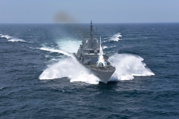 Lockheed Martin's version of the FFG(X), debuted at Surface Navy Association's National Symposium in January. (Lockheed Martin)