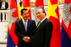 Cambodia dismisses reports that China will build a naval base there