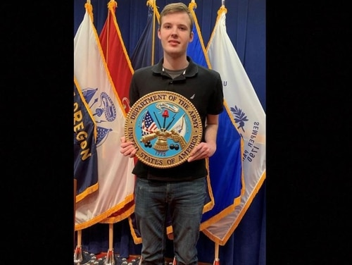 Garrison Horsley said his Army recruiter told him to omit his autism diagnosis during the enlistment process. (Courtesy photo)