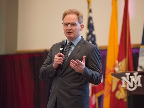 Former Acting Secretary of the Navy Thomas Modly sent a letter to the fleet following his resignation Tuesday. (MC1 Sarah Villegas/Navy)