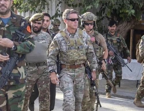 Gen. Scott Miller, who commands U.S. forces in Afghanistan, told the BBC that Afghan forces must be ready to defend their country. (Operation Resolute Support)