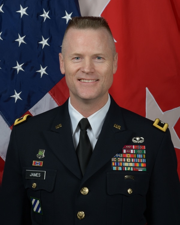 Maj. Gen. Thomas James was the 60th commanding general of the 7th Infantry Division. (Army)