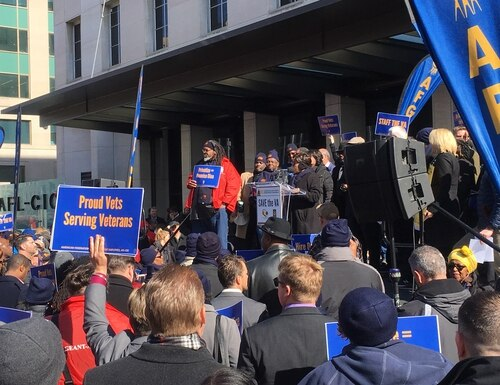 The Federal Labor Relations Authority determined that the Department of Veterans Affairs had violated it's union contract by disciplining employees without a chance to improve. (Leo Shane III/Staff)