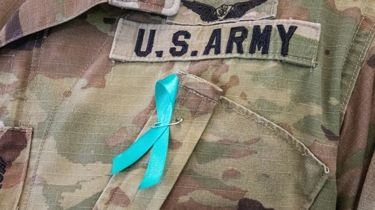 April is Sexual Assault Awareness and Prevention Month. (Sgt. Sarah D. Sangster/Army)