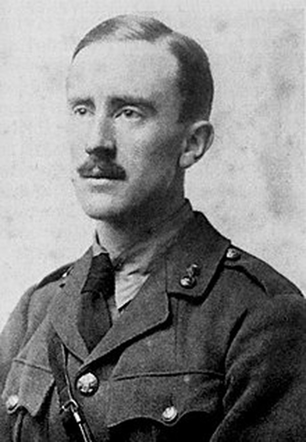 A young J.R.R. Tolkien took part in World War I's Battle of the Somme in the trenches of France, an experience that inspired much of his creation of Middle Earth, the universe most known in