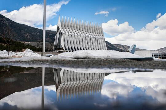 The U.S. Air Force Academy is investigating the death of two cadets in a span of three days. (Trevor Cokley/Air Force)