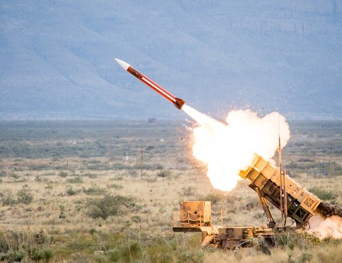 Saudi Arabia-based Patriot batteries have intercepted more than 100 tactical ballistic missiles (TBM) launched from Yemen since the Saudi-led war against Iranian-backed Houthis began in 2015, according to U.S. prime contractor Raytheon. (Raytheon)