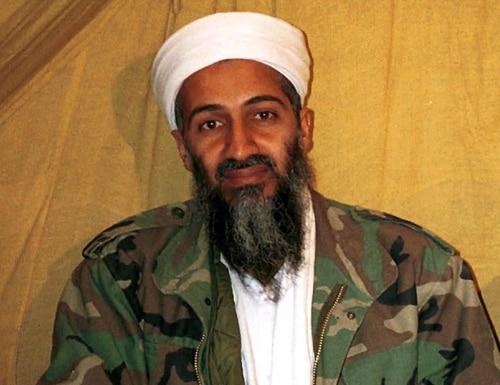 This undated file photo shows al-Qaida leader Osama bin Laden in Afghanistan. (AP Photo)