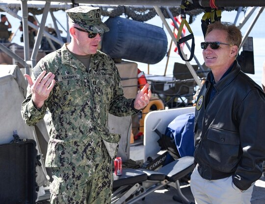Former acting Navy Secretary Thomas Modly resigned Tuesday. (MC2 Samantha Montenegro/Navy)