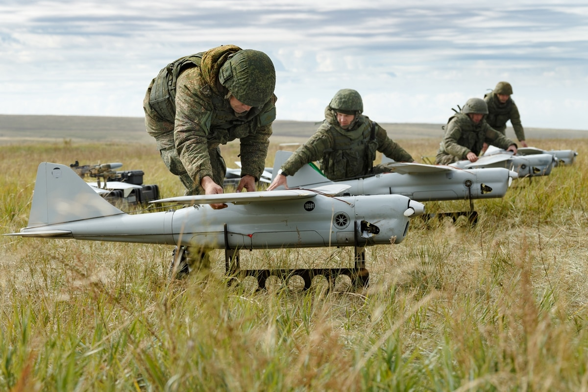 Image result for Russian drones can jam cellphones 60 miles away