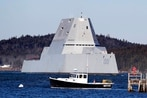 Advanced Gun System was holding back the Navy's new stealth destroyer
