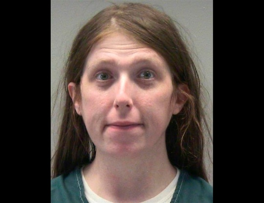This undated photo provided by the Montgomery County Jail shows Jessica Watkins. (Montgomery County Jail via AP).