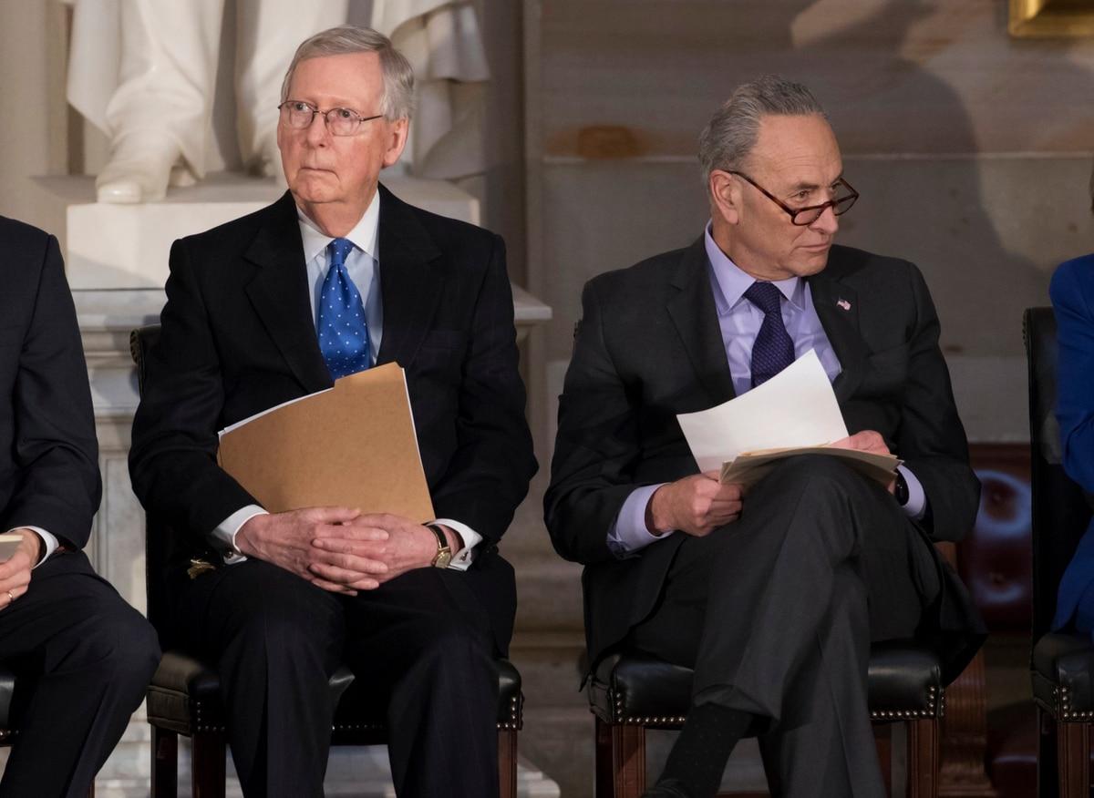 Government shutdown ends. Congress authorizes trillion-dollar deficit, raises debt ceiling