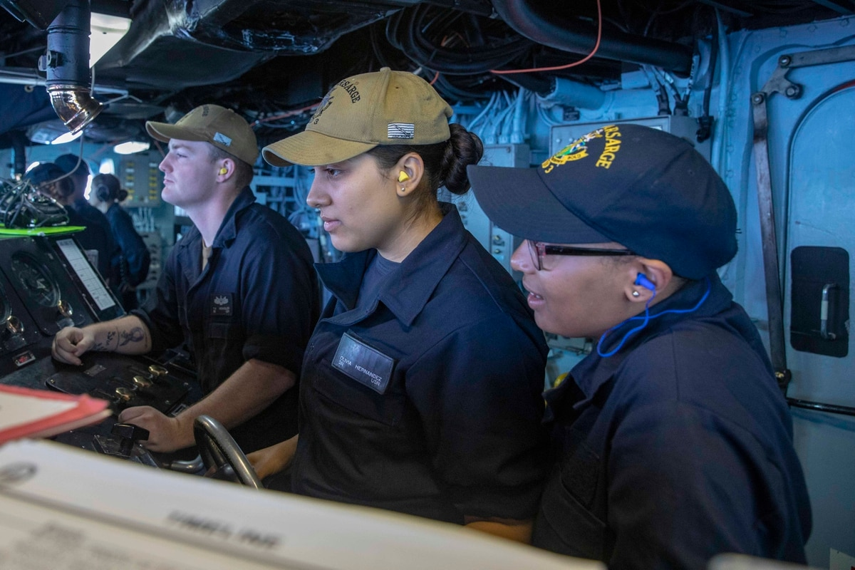 US Navy adding new training to pre-deployment work-ups