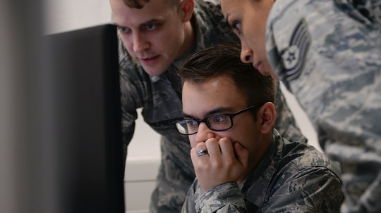The Air Force is discussing the potential stand up of a rapid cyber office. (U.S. Air Force photo by Airman 1st Class D. Blake Browning)