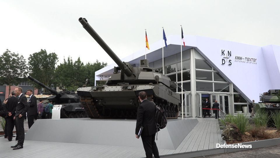 11bd811de0d8 French and German armor makers test the waters with a  Euro-tank